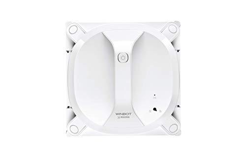 ECOVACS Robotics WINBOT X (Modellupgrade 2020) Fensterputzroboter - kabellos, flexibel und sicher, mit Fernbedienung, Weiß
