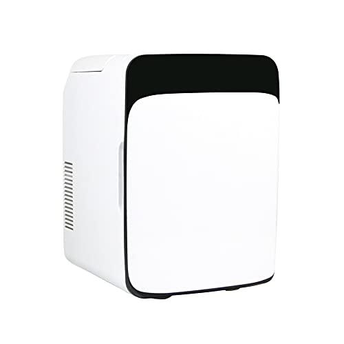 OMVOVSO Mini Kühlschrank, Gefrierschrank Kühlschrank Klein Flaschenkühlschrank Kleiner Kühlschrank Minikühlschrank Lautlos Kühlschrank Günstig,Weiß