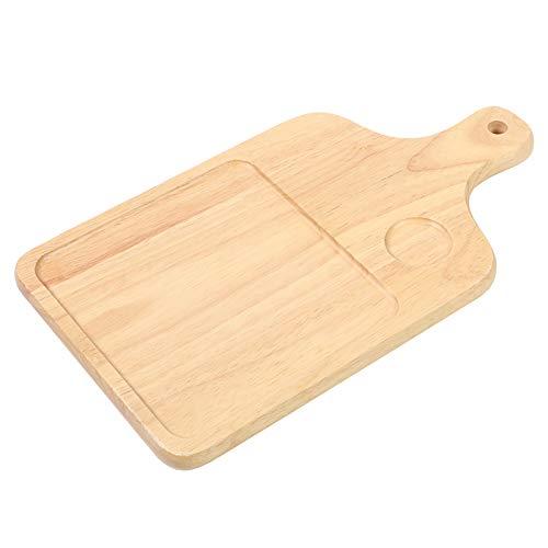 Alvinlite Küchenschneidebrett Holz Pizzabrett Brot Käse Schneidebrett für Pizza Brotbacken Käse Verwendung