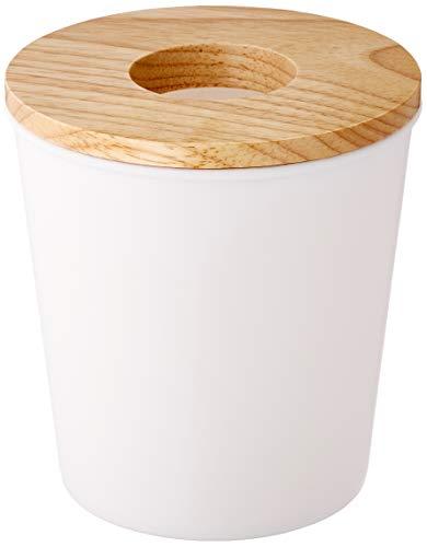 Opportunity 26b12050100 Abfalleimer, u.a. aus Baumwolle, Farbe: Holz/Weiß 14cm