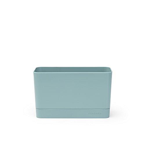 Brabantia Spülorganizer, Kunststoff/Silikon, Mint, 19 x 8,5 x 11,5 cm, 1 Einheiten