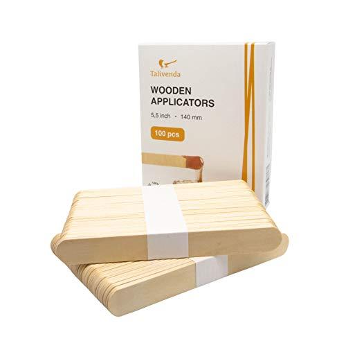 Spatel Kosmetik,Spatel Holz,Mundspatel,Eisstiele aus Holz,Spatel für Haarentfernung mit Wax,Wachs Haarentfrenung,Holzspatel Waxing auf Gesicht,Holz zum Basteln...