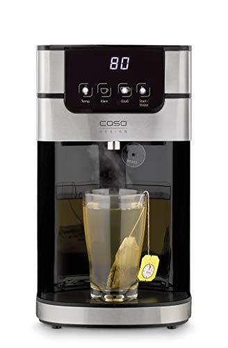 CASO PerfectCup 1000 Pro – Turbo Heißwasserspender, heißes Wasser in wenigen Sekunden, 2600 W, abnehmbarer 4 Liter Wassertank, von 70-100°C einstellbar,...
