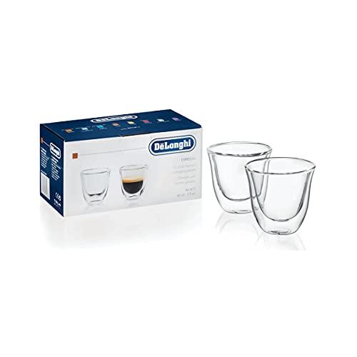 De'Longhi isolierte Espresso-Gläser, 2er Set, Thermogläser 5513284151
