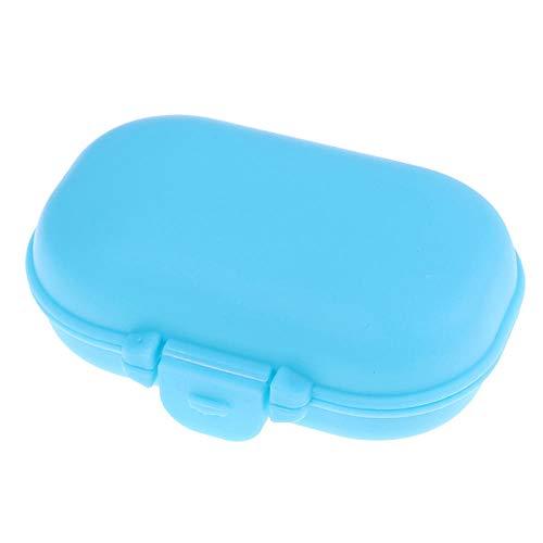 Tabletten Box 3Pc Mini Portable 2/3/6 Grid Push Open Style Pillenbox Medicine Pillbox Tablet Aufbewahrungskoffer Behälterkoffer Aufbewahrungsbox-3