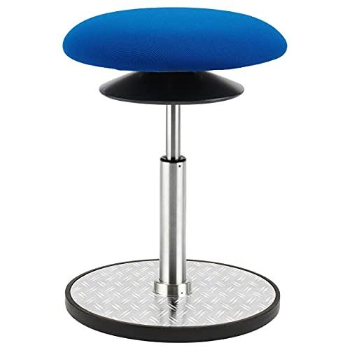 Sport-Tec Ergo Pendelhocker Standard Stehhilfe Sitzhocker Höhenverstellbar ø 30 cm BLAU