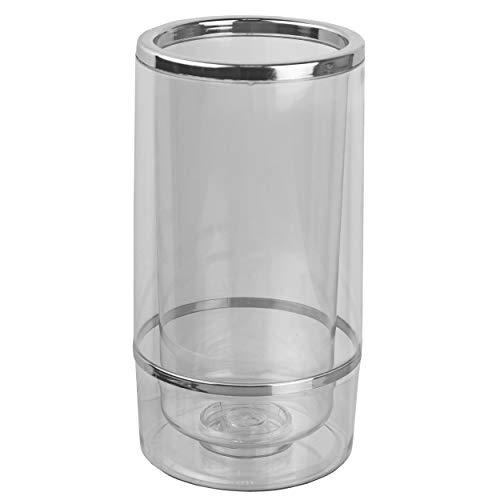 HRB Flaschenkühler doppelwandiger Kühlmanschette für Flaschen wie Wein Champagner und Sekt, Cool Twister Outdoor, Weinkühler mit Einer Höhe von 23 cm und...