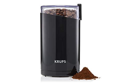 Krups F20342 Kaffeemühle und Gewürzmühle in Einem   Leistungsstarker Motor   Mahlgrad variabel   75g Füllmenge   Schlagmesser aus Edelstahl  ...