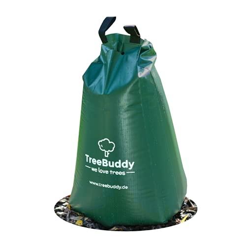 TreeBuddy Baumbewässerungssack | 1 Baumbeutel Bewässerungssack für Bewässerung von Bäumen | langlebiger 75l Bewässerungsbeutel aus robustem PVC |...