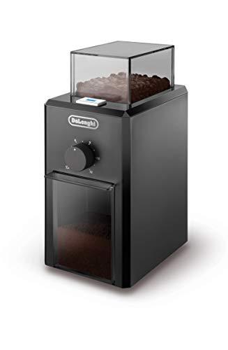 De'Longhi KG 79 Professionelle Kaffeemühle für bis zu 12 Tassen, Kunststoffgehäuse, schwarz
