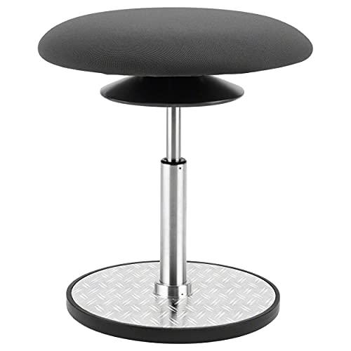 Sport-Tec Ergo Pendelhocker Maxi, Sitzhocker, ergonomischer Hocker, Sitzhilfe, Arbeitshocker ø 37 cm