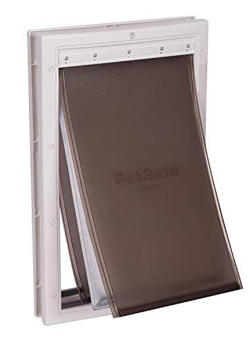 PetSafe Haustiertür für extreme klimatische Bedingungen, einfach zu installieren, isolierend, wetterfest, energieeffizient, Dreifacher Schutz gegen Kälte und...