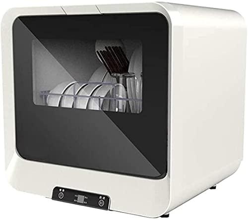 Kompakter, tragbarer Geschirrspüler mit LED-Display, vollautomatischer Tisch-Geschirrspüler, luxuriöses Touch-Panel, keine Installation erforderlich