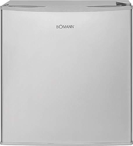 Bomann KB 340.1 Kühlbox, 45 Liter, 99 kWh, stufenlose Temperatureinstellung, 2 Gitterablagen (herausnehmbar), inox