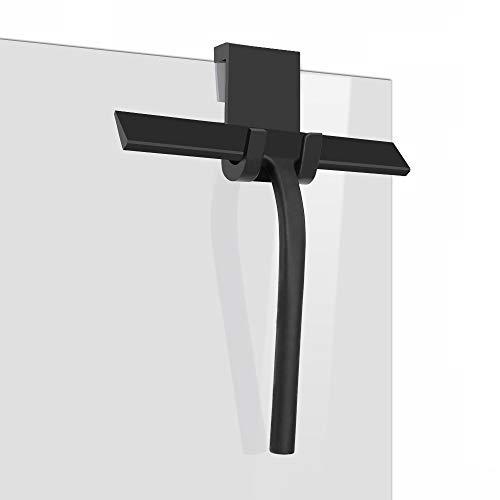 IARTISTE Duschabzieher Silikon Duschwischer Fensterabzieher Badezimmerwischer,Fensterabzieher aus Silikon mit Edelstahl-Kern für...