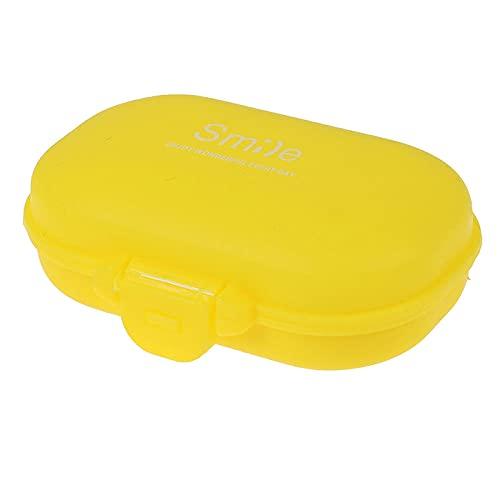 Tabletten Box 3Pc Mini Portable 2/3/6 Grid Push Open Style Pillenbox Medicine Pillbox Tablet Aufbewahrungskoffer Behälterkoffer Aufbewahrungsbox-6Grid