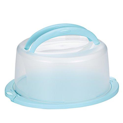 kela Tortencontainer Deli 38x33x17cm in pastellblau, kunststoff, 1-teilig