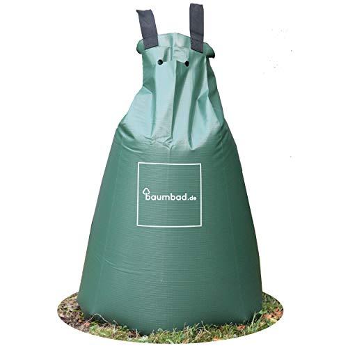 baumbad 1 Premium Bewässerungsbeutel, PVC UV Beständig, Baumsack zur Bewässerung Grün