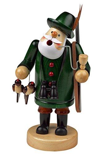 Räuchermännchen Räuchermann Räucherfigur Rauchfigur 'Förster' ca. 18 cm hoch, aus Holz, Weihnachten Advent Geschenk (30105-18)