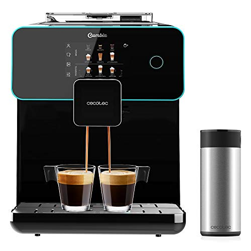 Cecotec Kaffemaschine Power Matic-ccino 9000 Serie Nera, 19 bar, personalisiert Temperatur, Geschmacksintensität, Milchschaum, LED-Bildschirm, integrierte...