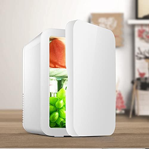 Mini Kühlschrank 8L Minibar Kühlschrank 38Db ABS Mini Gefrierschrank Kühlschrank Klein Flaschenkühlschrank Kleiner Kühlschrank Lautlos Kühlschrank Mini...