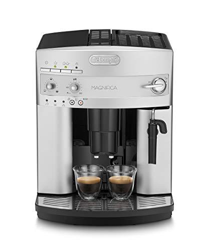 De'Longhi Magnifica ESAM 3200.S Kaffeevollautomat mit Milchaufschäumdüse für Cappuccino, mit Espresso Direktwahltaste, 2-Tassen-Funktion, großer 1,8 Liter...