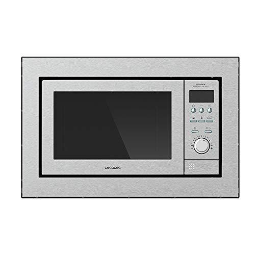 Cecotec GrandHeat 2500 Digitale Einbau-Mikrowelle, 900 W, Kapazität 25 l, Grill, 10 voreingestellte Funktionen, Multicooking, Quick Start