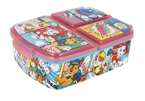 Theonoi Kinder Brotdose / Lunchbox / Sandwichbox wählbar: Frozen PJ Masks Spiderman Avengers - Mickey – Paw aus Kunststoff BPA frei - tolles Geschenk für...