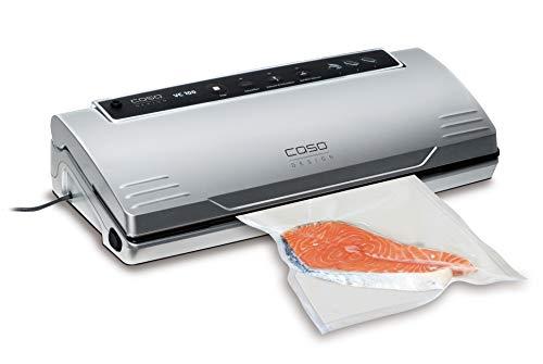 CASO VC100 Vakuumierer - Vakuumiergerät, Lebensmittel bleiben bis zu 8x länger frisch - natürliche Aufbewahrung ohne Konservierungsstoffe, doppelte 30cm...