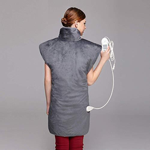 YUXINCAI Heizkissen - Entlasten Sie Rücken Und Schulter Heizdecke Rücken Schulter Automatische Schließung 3-Gang-Einstellung Flanell