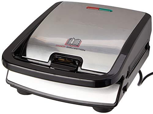Tefal SW852D Snack Collection | Sandwich- und Waffelmaker | Kombigerät | Antihaftbeschichte Platten | Spülmaschinengeeignet | mit vielfältigen Funktionen...