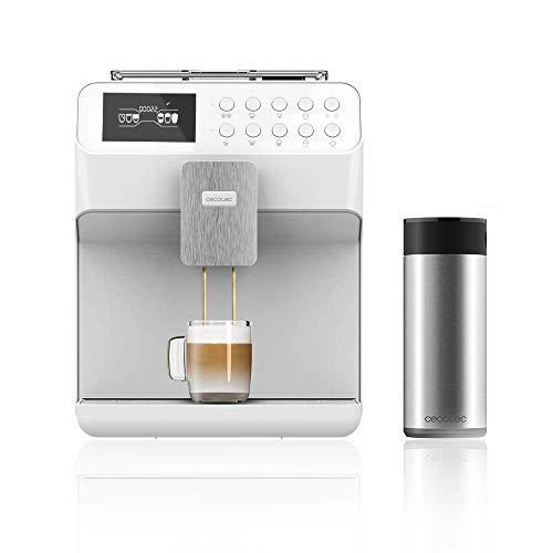 Cecotec Power Matic-ccino 7000 Serie Bianca Multifunktionskaffeemaschine Kaffeemühle Touchscreen Individuelle Zubereitung Force Aroma Technologie 19 Bar Druck...
