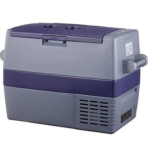 60L Auto Kühlschrank, -20℃~10℃ Kompressor Kühlbox, Große Kapazität Elektrische Kühlschrank, 12/24V DC und 100-240V AC für Outdoor, Fahrzeuge, Camping,...