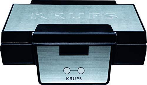 Krups Waffeleisen FDK251   Doppelwaffeleisen   2 Belgische Waffeln gleichzeitig   Antihaftbeschichtete Platten (Leichte Reinigung)   Für rechteckige Waffeln  ...