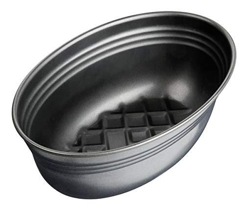Zenker Brotform oval Black METALLIC, Brotbackform mit keramisch verstärkt Antihaftbeschichtung, Kuchenform aus hochwertigem Stahlblech, Backform für Brot...