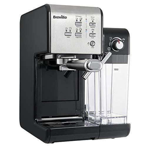 Breville PrimaLatte II Kaffee- und Espressomaschine   italienische Pumpe mit 19 Bar  fr Kaffeepulver oder Pads geeignet   Integrierter automatischer...