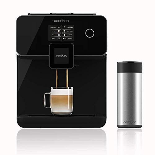 Cecotec Power Matic-ccino 8000 Serie Nera Kaffeevollautomat Plug And Play 1500W ForceAromaTechnologie 19 Dezibill Wassertank 1,7 Liter Milchtank 0,4 Liter...
