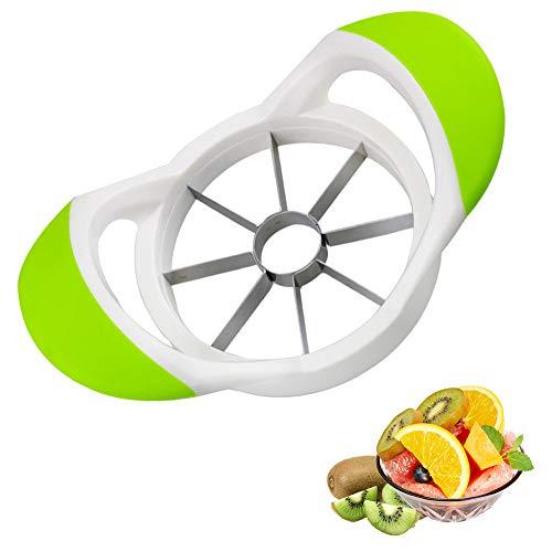 HKBTCH Apfelschneider, Apfelschäler, Obstschneider mit Edelstahl, Kartoffel Obstschäler & Schneider ideal für Äpfel und Birnen
