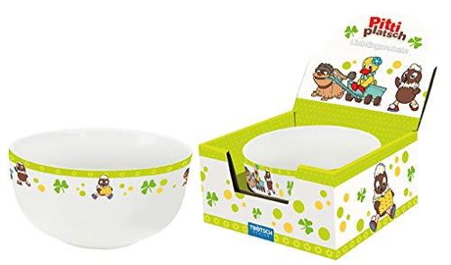 Trötsch Pittiplatsch Lieblingsschale grün: Aus Porzellan mit Geschenkverpackung (Unser Sandmännchen)