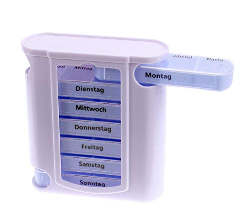 Osma Pillen-/ Tablettenbox 13x11x4cm Wocheneinteilung