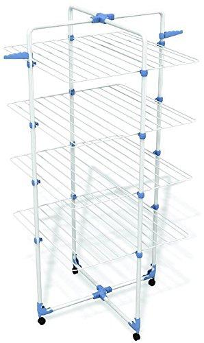 Gimi Modular 4 Turm-Wäscheständer aus Stahl, 40 m Trockenlänge