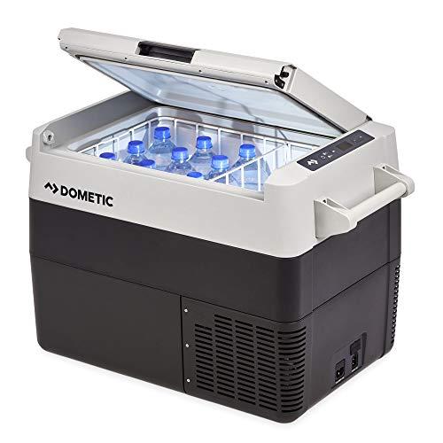 DOMETIC CoolFreeze CFF 45, tragbare elektrische Kompressor-Kühlbox, 38 Liter, 12/24 V und 230 V für Auto, Lkw, Boot, Reisemobil und Steckdose,