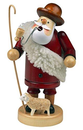 Räuchermännchen Räuchermann Räucherfigur Rauchfigur 'Schäfer' ca. 18 cm hoch, aus Holz, Weihnachten Advent Geschenk (30104-18)