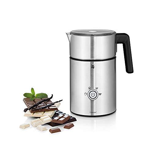 WMF Lono Milk & Choc Milchaufschäumer elektrisch, 150-500 ml, 650 Watt, kabelloser Milchbehälter, für Milchschaum heiss, kalt, heiße Schokolade