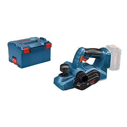 Bosch Professional 18V System Akku Hobel GHO 18 V-LI (ohne Akkus und Ladegerät, in L-BOXX)