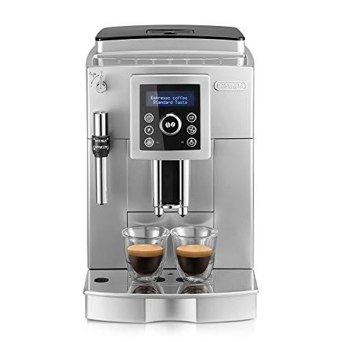 De'Longhi ECAM 23.420.SB Kaffeevollautomat mit Milchaufschäumdüse für Cappuccino, Espresso Direktwahltaste und Digitaldisplay mit Klartext,...