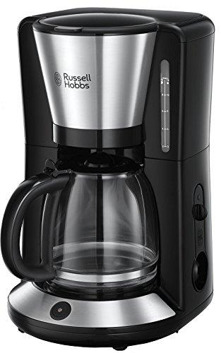 Russell Hobbs Kaffeemaschine Adventure Edelstahl, Glaskanne bis zu 10 Tassen, 1,25l, Warmhalteplatte, Abschaltautomatik, Tropf-Stopp, 1100 Watt,...