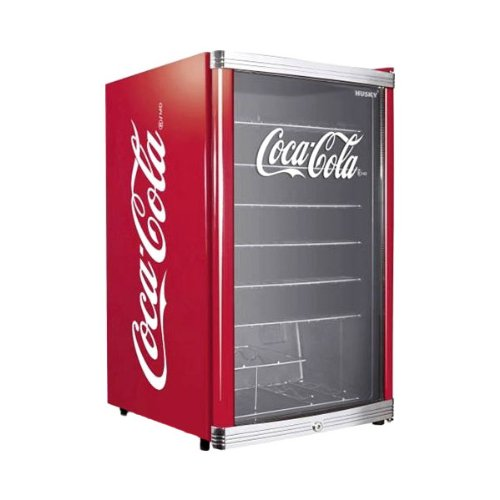 °CUBES HighCube Flaschenkühlschrank Coca-Cola/F / 84,5 cm Höhe / 104 kWh/Jahr / 115 L Kühlteil