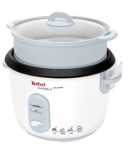 Tefal Reiskocher RK1011   Voreingestellte Kochprogramme   10 Tassen Kapazität (5L)   Automatische Warmhaltefunktion   Manuelle Anpassungen   Perfekt Gegarter...