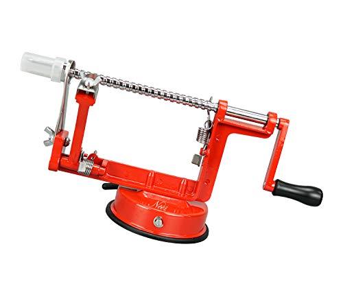 NEEZ Apfelschäler Fruchtentkerner Entferner Schneidemaschine Cutter und Kartoffelschäler, Gemüse Schälen Maschine zum Küche, Schäler